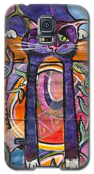 His Own World Galaxy S5 Case by Leela Payne