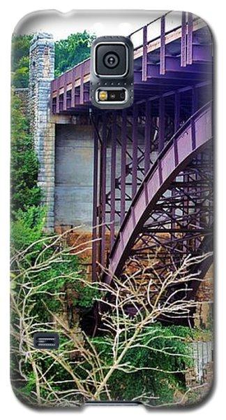 Historic Ausable Chasm Bridge Galaxy S5 Case by Patti Whitten