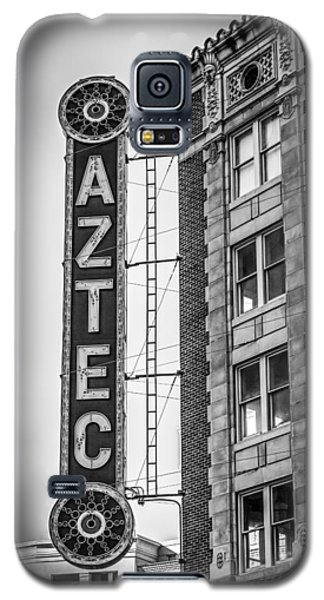 Historic Aztec Theater Galaxy S5 Case by Melinda Ledsome