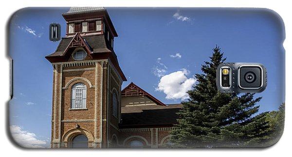 Galaxy S5 Case featuring the photograph Historic Church In Randolph Utah by Richard Lynch
