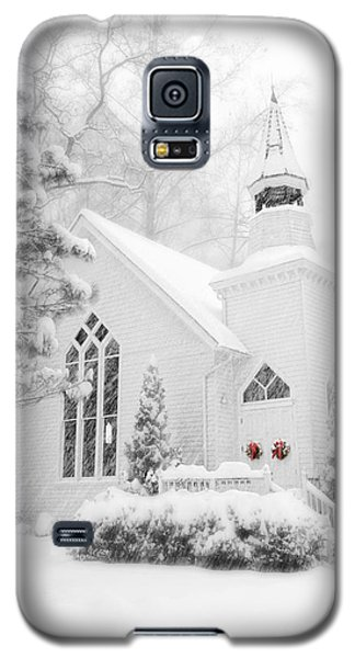 White Christmas In Oella Maryland Usa Galaxy S5 Case
