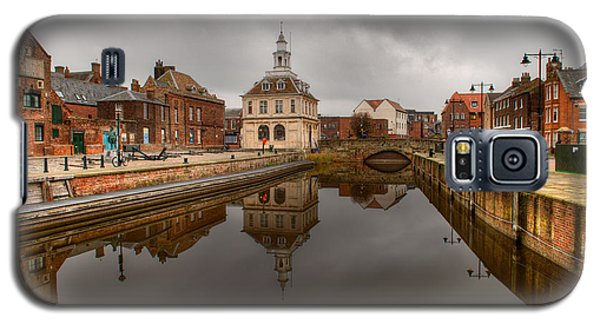 Historic Customs House And Dramatic Reflection Galaxy S5 Case