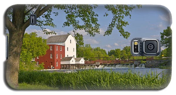 Historic Flour Mill By A River Galaxy S5 Case