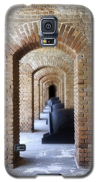 Galaxy S5 Case featuring the photograph Historic Hallway by Laurie Perry