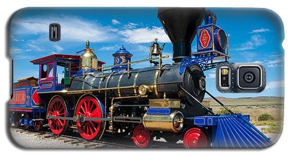 Historic Jupiter Steam Locomotive - Promontory Point Galaxy S5 Case