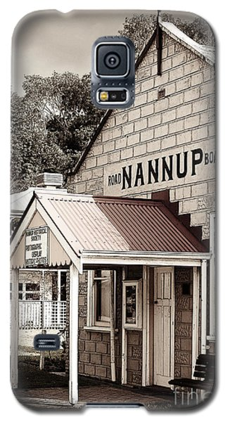 Galaxy S5 Case featuring the digital art Historic Nannup by Serene Maisey