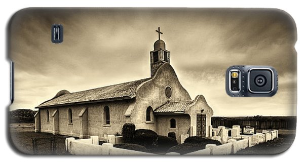 Historic Old Adobe Spanish Style Catholic Church San Ysidro New Mexico Galaxy S5 Case