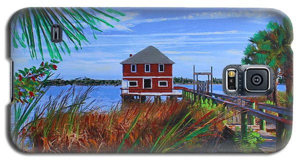 Historic Ormond Boathouse Galaxy S5 Case