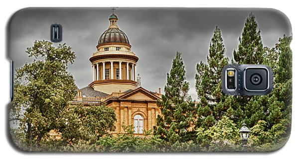 Galaxy S5 Case featuring the photograph Historic Placer County Courthouse by Jim Thompson