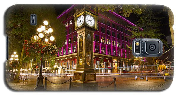 Historic Steam Clock In Gastown Vancouver Bc Galaxy S5 Case