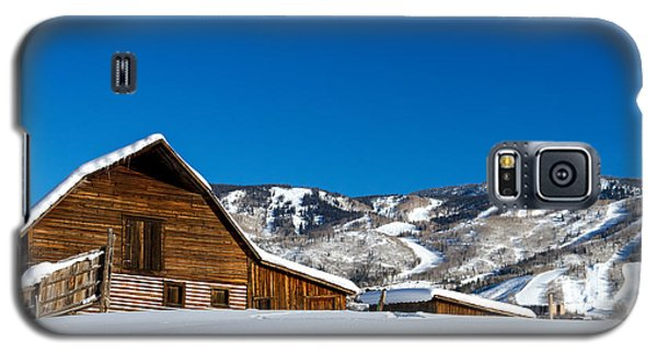 Historic Steamboat Spring Barn Galaxy S5 Case