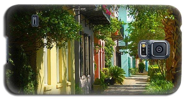 Historic Streets Urban Charleston South Carolina Galaxy S5 Case