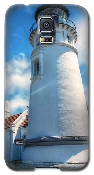 Galaxy S5 Case featuring the photograph Historic Umpqua River Lighthouse by Tyra  OBryant