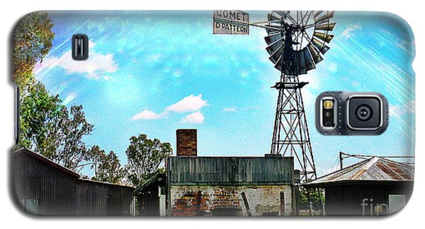 Historic Village Of Jandowae Galaxy S5 Case by Therese Alcorn