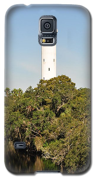 Galaxy S5 Case featuring the photograph Historic Water Tower - Sulphur Springs Florida by John Black