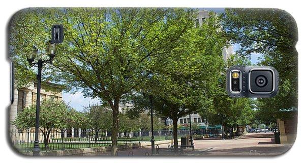 Lincoln Square Springfield Il - Luther Fine Art Galaxy S5 Case