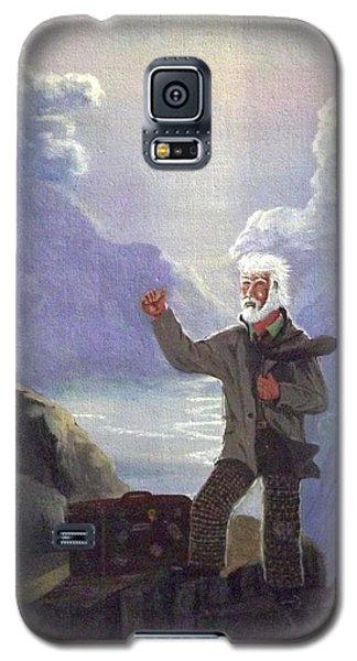 Hitchhiker Galaxy S5 Case by Richard Faulkner