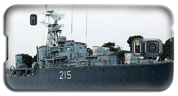 Hmcs Haida Twin Gun Tribal Class Destroyer  Galaxy S5 Case