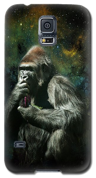 Galaxy S5 Case featuring the photograph Hmmmm by James Bethanis