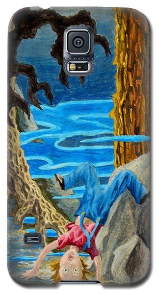 Galaxy S5 Case featuring the painting Hmmmmm by Matt Konar