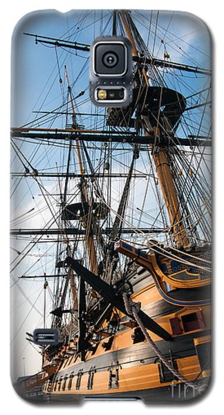 Hms Victory In Portsmouth Dockyard Galaxy S5 Case