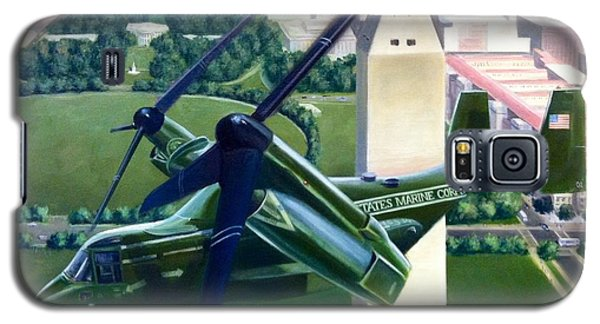 Galaxy S5 Case featuring the painting Hmx-1 Mv-22 by Stephen Roberson