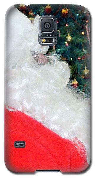 Galaxy S5 Case featuring the photograph Santa Claus by Vizual Studio