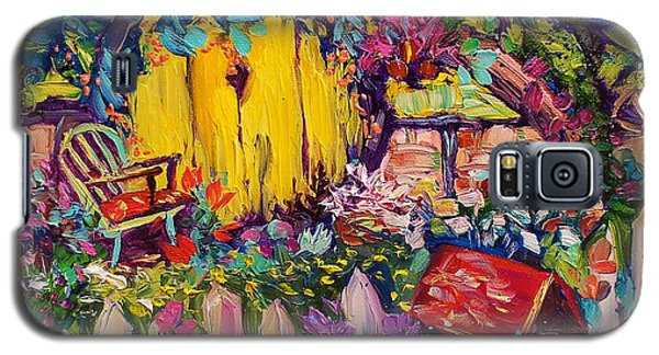 Hobbit House Oil Painting Galaxy S5 Case