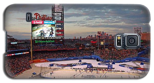 Hockey At The Ballpark Galaxy S5 Case
