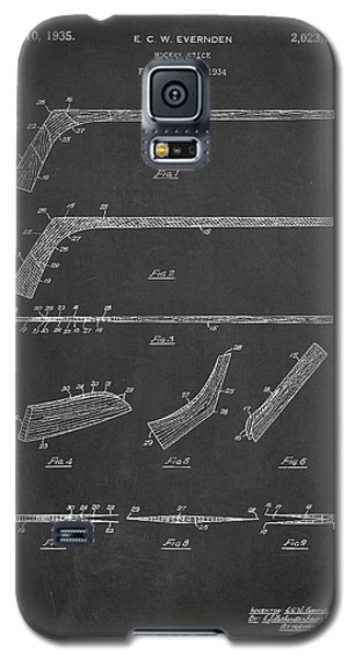 Hockey Stick Patent Drawing From 1934 Galaxy S5 Case by Aged Pixel