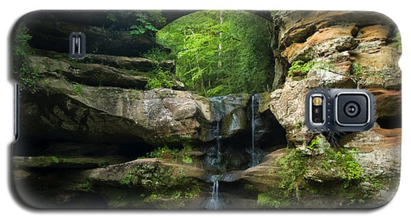 Hocking Hills Waterfall 1 Galaxy S5 Case