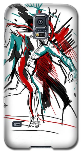 Hogarth Holiday Galaxy S5 Case