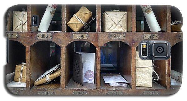 Hogsmeade Owl Post Office Galaxy S5 Case by Edward Fielding