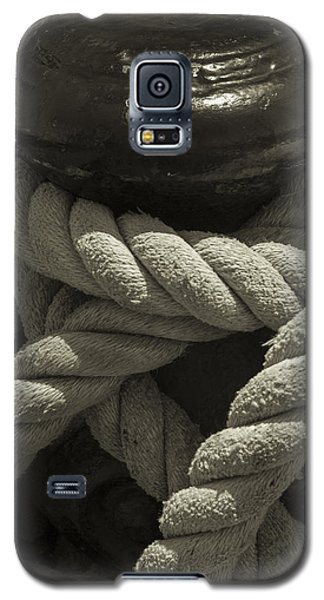Hold On Black And White Sepia Galaxy S5 Case