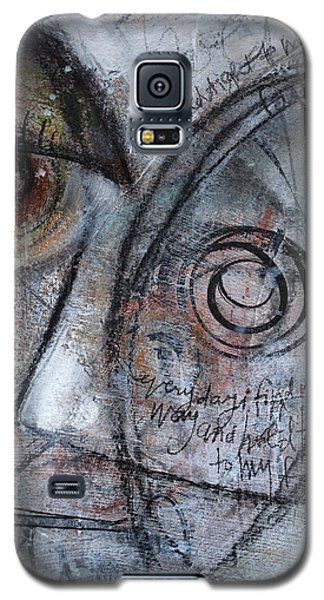 Hold Tight To My Faith Galaxy S5 Case