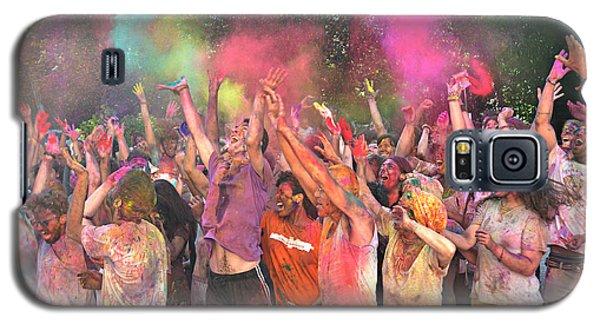 Holi Color Festival Galaxy S5 Case