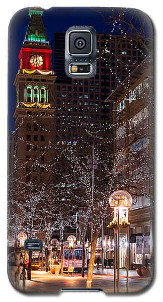 Holiday Carriage Ride Galaxy S5 Case