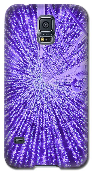 Holiday Christmas Galaxy S5 Case by Michael Nowotny