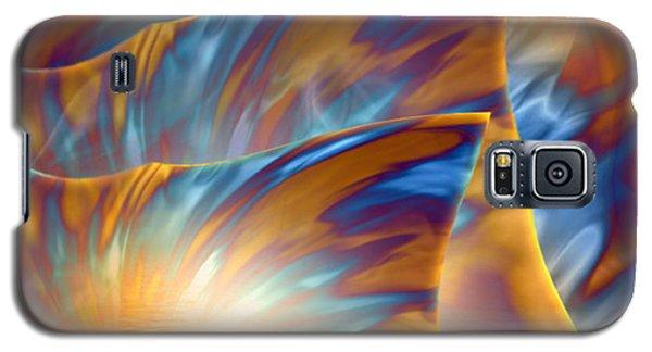 Galaxy S5 Case featuring the digital art Holiday Dream - Fantasy Art By Giada Rossi by Giada Rossi