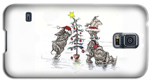 Holiday Ice Galaxy S5 Case