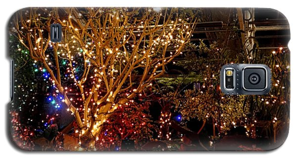 Holiday Lights Greeting Card Galaxy S5 Case