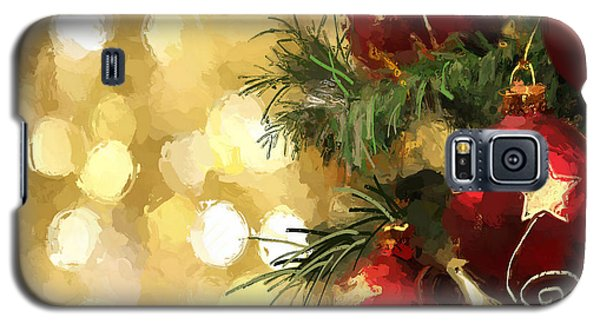 Holiday Ornaments Galaxy S5 Case