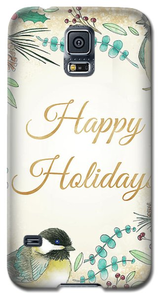 Holiday Wishes II Galaxy S5 Case by Elyse Deneige