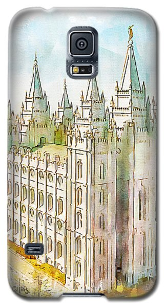 Holiness To The Lord Galaxy S5 Case by Greg Collins