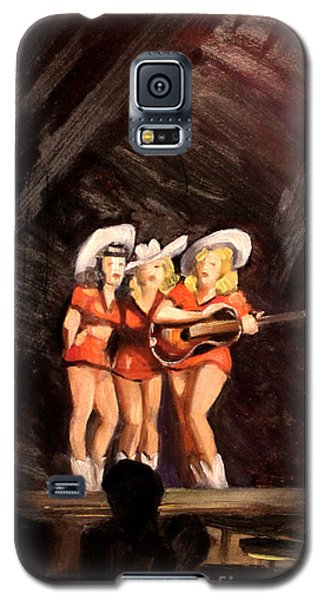 Holloywood Cowgirls On Stage  1940 Galaxy S5 Case