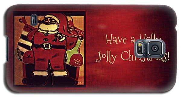 Holly Jolly Santa  Galaxy S5 Case