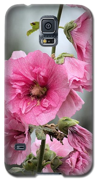 Hollyhock Galaxy S5 Case by Bonfire Photography