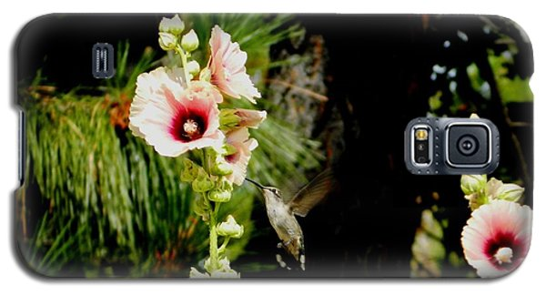 Hollyhock Heaven Galaxy S5 Case
