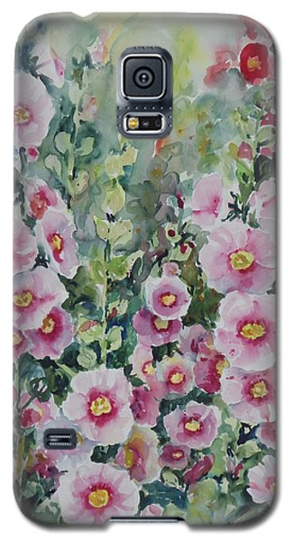 Hollyhocks Galaxy S5 Case