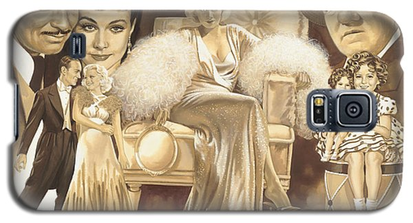 Shirley Temple Galaxy S5 Case - Hollywoods Golden Era by Dick Bobnick